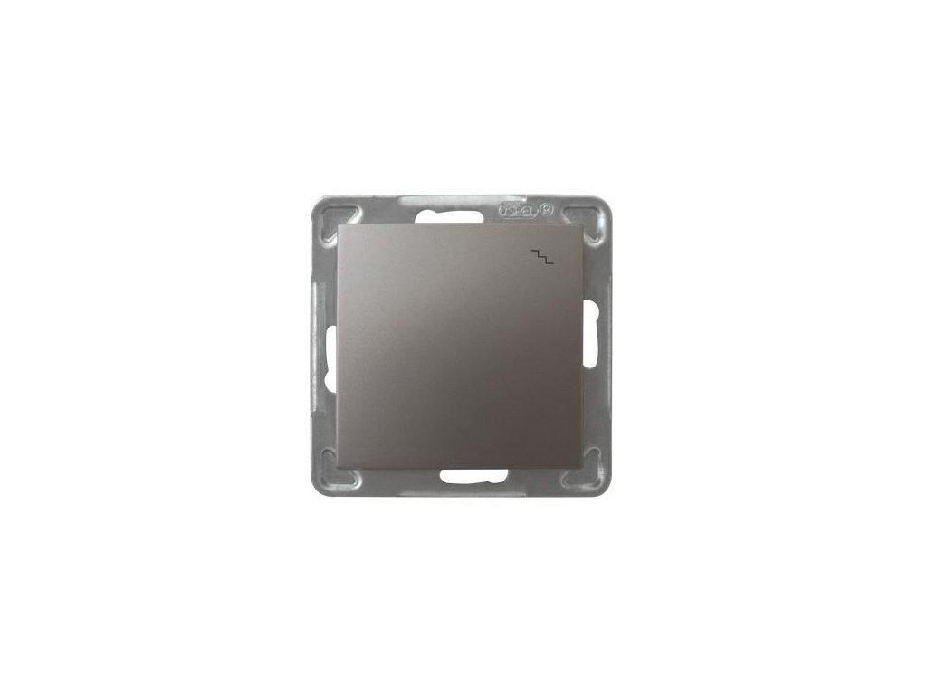 OSPEL Impresja přepínač schodišťový titan