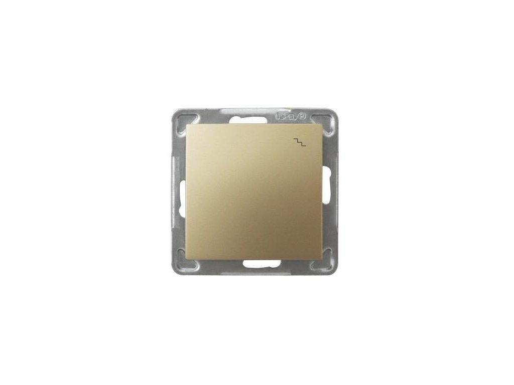 OSPEL Impresja přepínač schodišťový zlatý