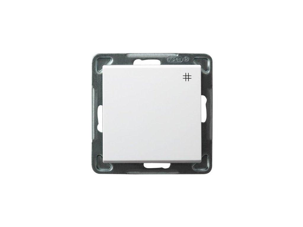 OSPEL Sonáta přepínač křížový bílý