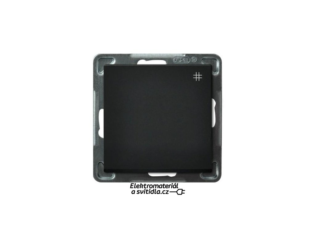 OSPEL Sonáta přepínač křížový černý