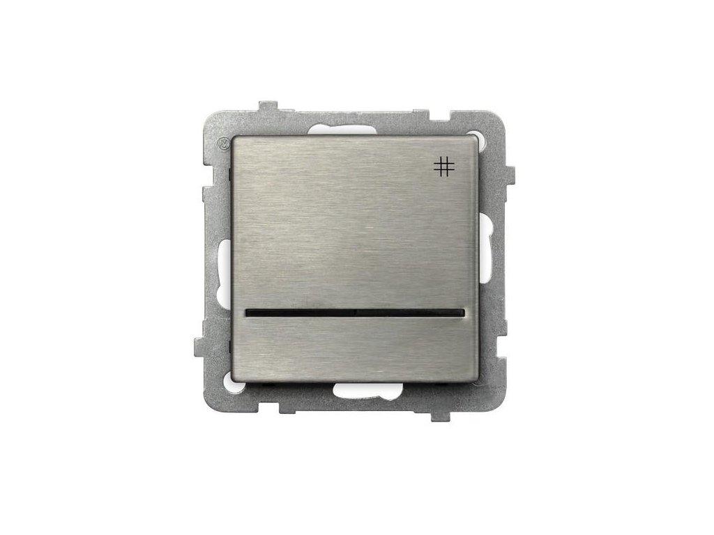 OSPEL Sonáta přepínač křížový ocel