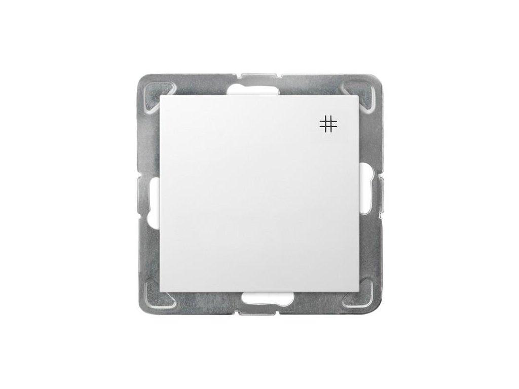 OSPEL Impresja přepínač křížový bílý