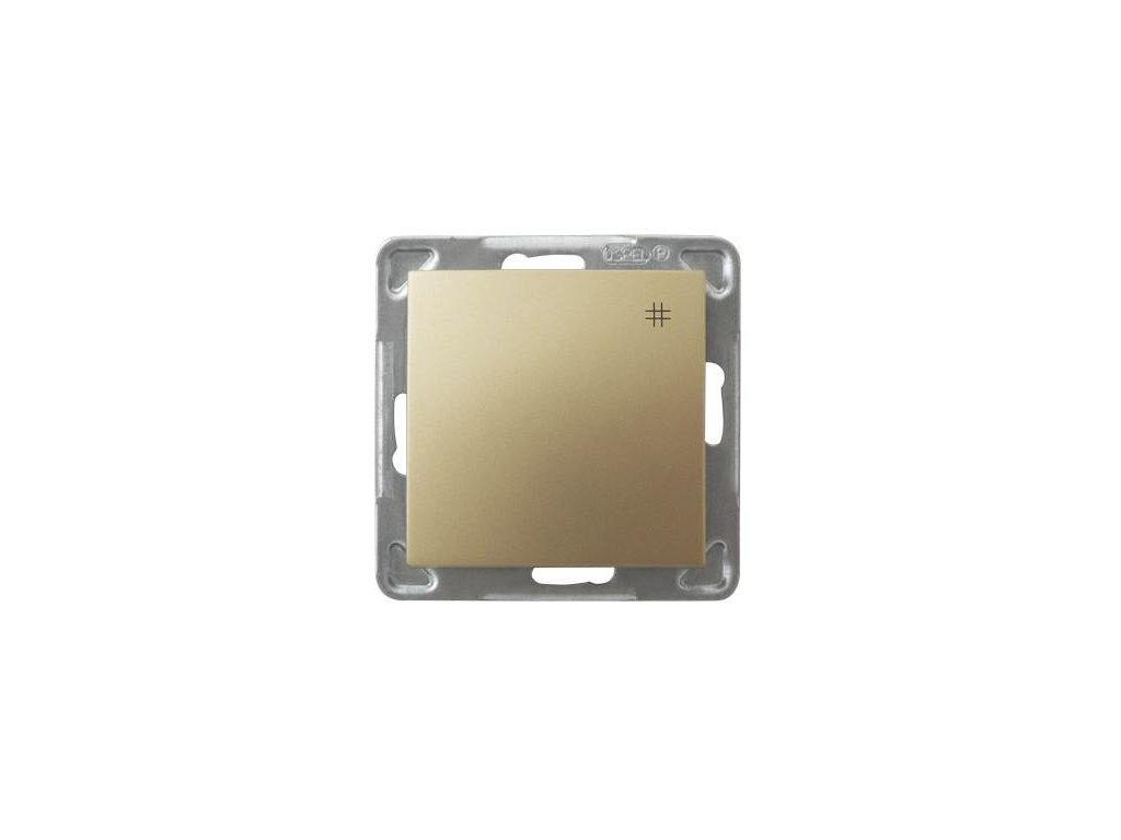 OSPEL Impresja přepínač křížový zlatý