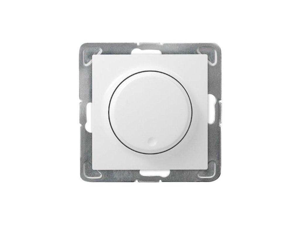OSPEL Impresja stmívač otočný 40 - 400 W bílý