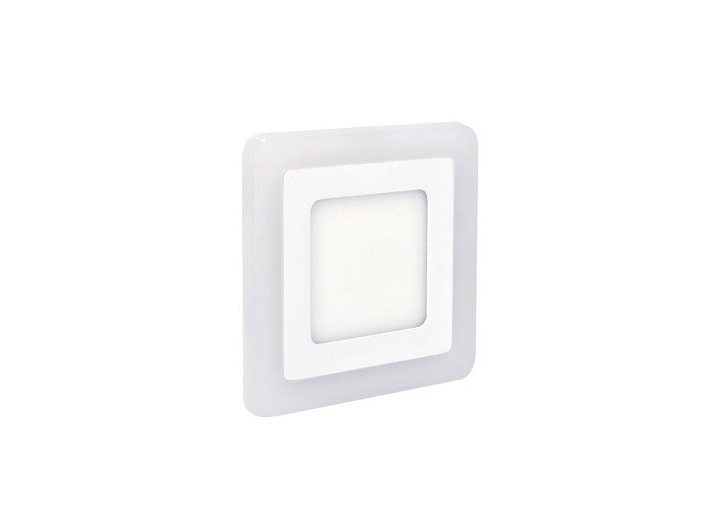 Solight WD153 LED podsvícený panel, podhledový, 12W+4W, 900lm, 4000K, čtvercový