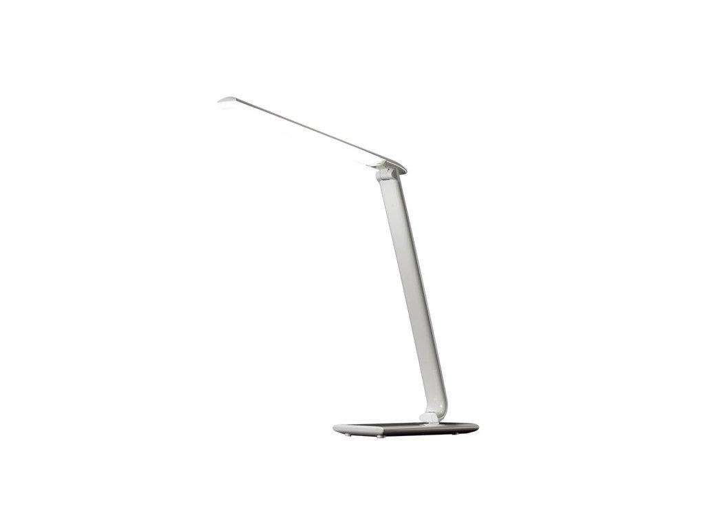 Solight LED stolní lampička stmívatelná, 12W, volba teploty světla, USB, bílý le