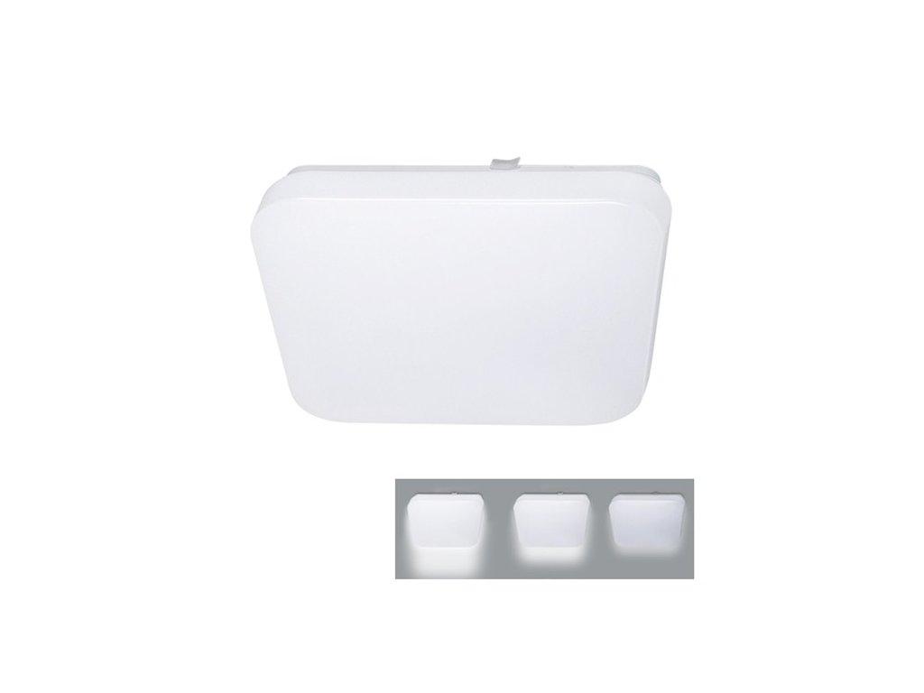 Solight LED stropní světlo, 3-stupňové stmívání,18W,1260lm,4000K,čtvercové 33cm