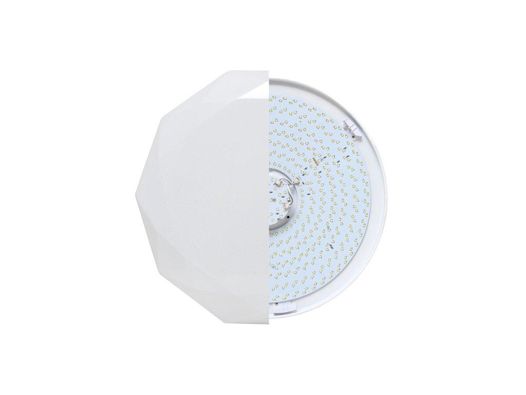 Diamant LED 24W, 1920lm, dálkové ovládání (LED-CL17-24W)