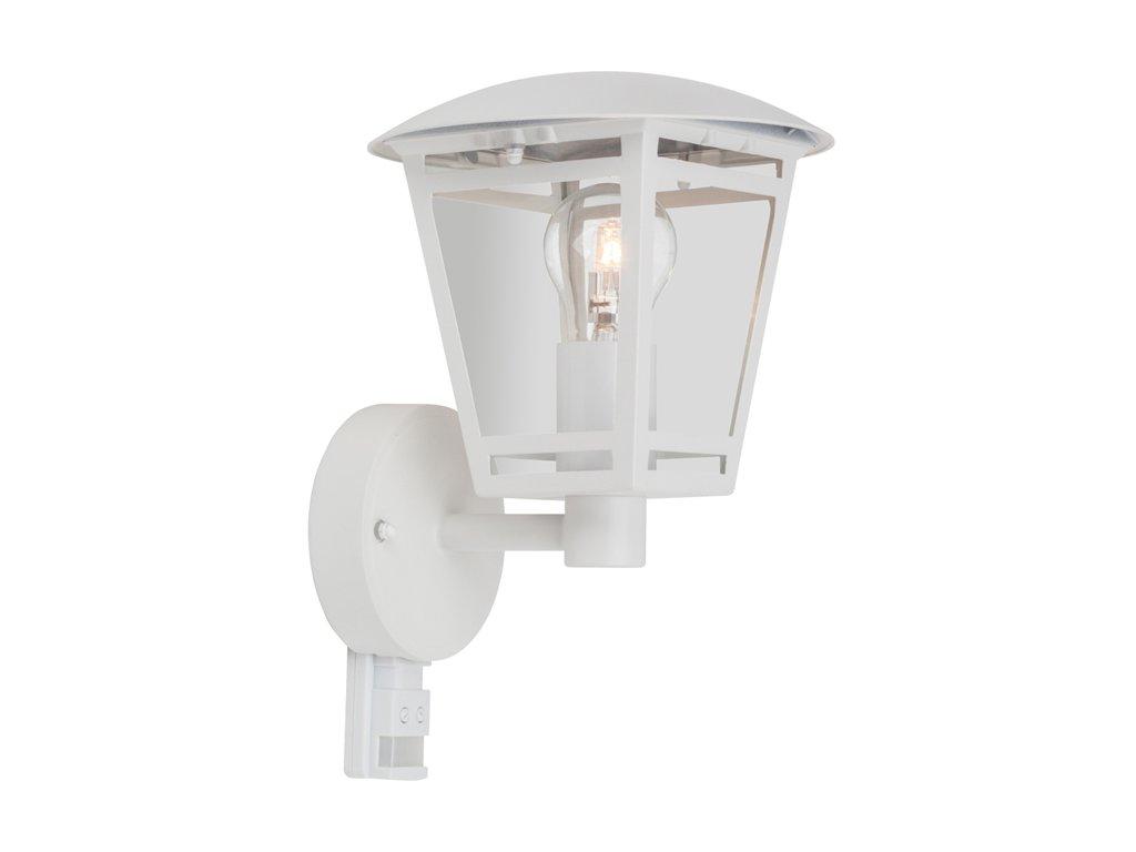 Ecolite LAURA bílá, žárovkové se senzorem pohybu