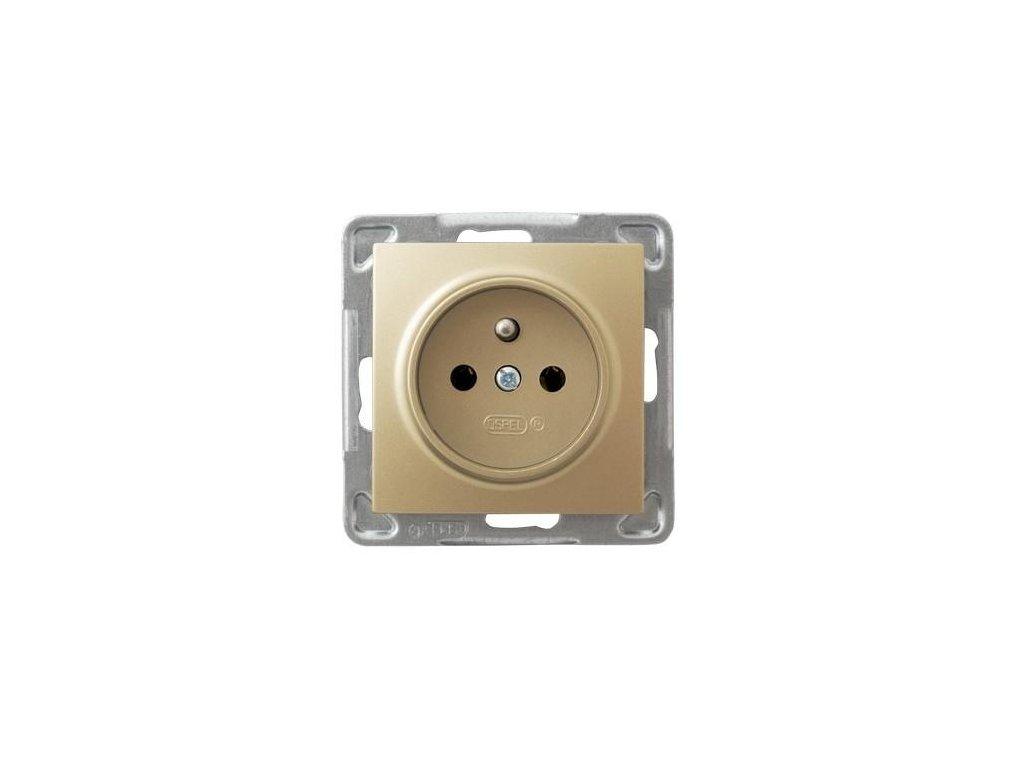 OSPEL Impresja zásuvka zlatá