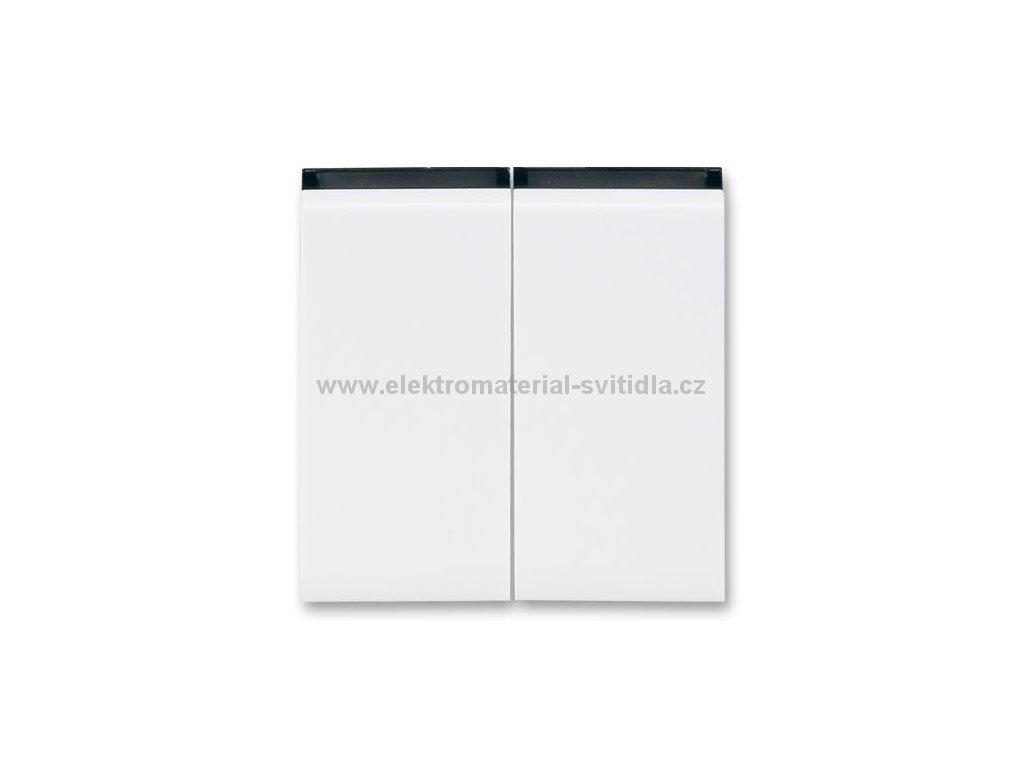 ABB LEVIT 3559H-A00652-62 bílá/kouřová černá