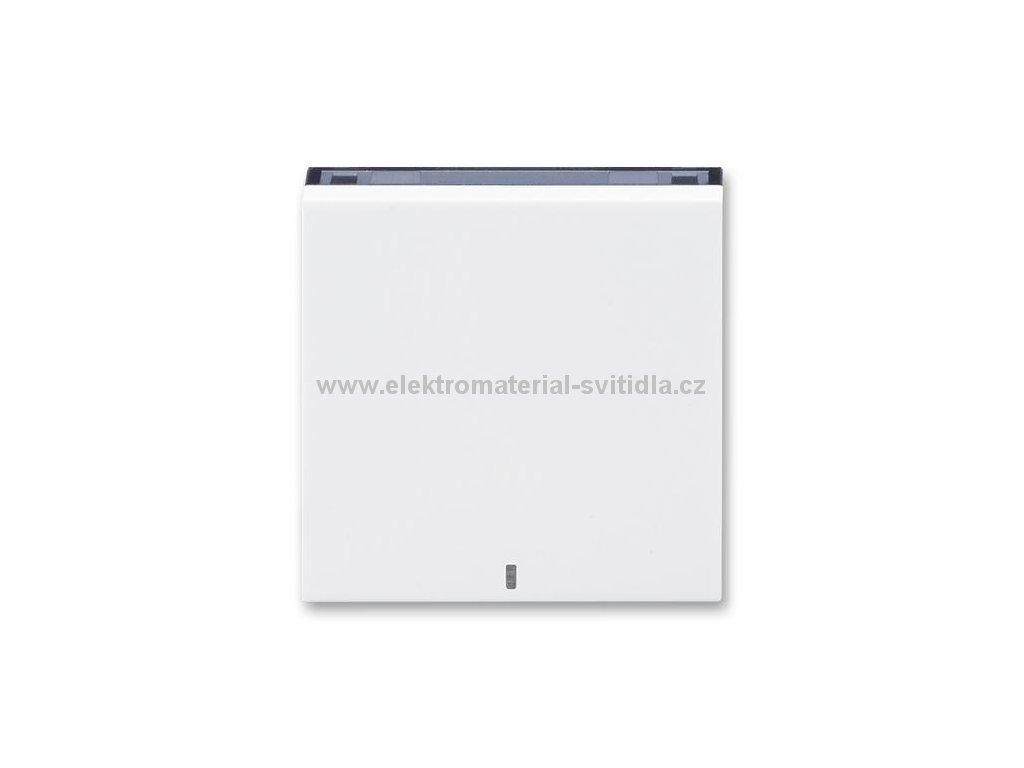 ABB LEVIT 3559H-A00653-62 bílá/kouřová černá