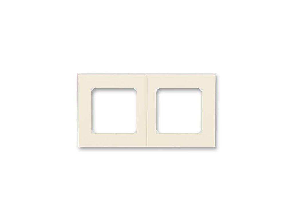 ABB 3901H-A05020-17 LEVIT sloová kost/bílá
