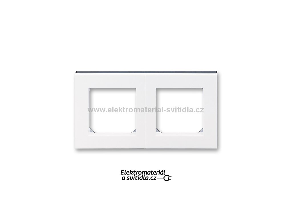 ABB LEVIT 3901H-A05020-62 bílá/kouřová černá