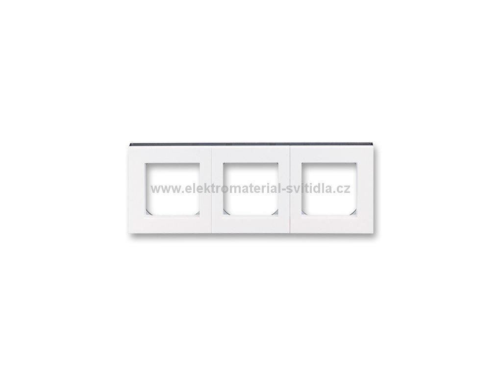 ABB LEVIT 3901H-A05030-62 bílá/kouřová černá