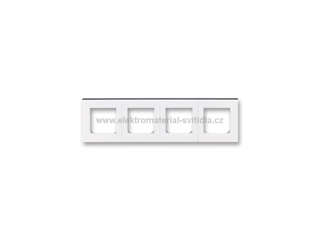ABB LEVIT 3901H-A05040-62 bílá/kouřová černá