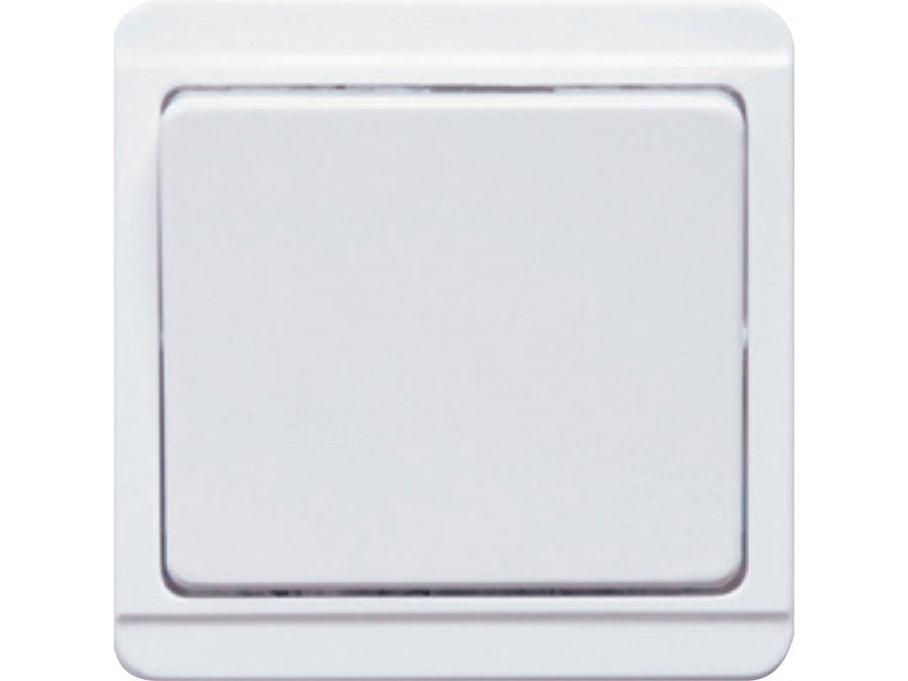 TESLA Standard SPÍNAČ STŘÍDAVÝ bílý