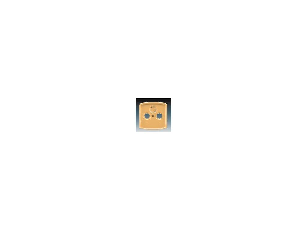 ABB 5011A-A00300D Kryt zásuvky televizní, rozhlasové a satelitní béžový Tango