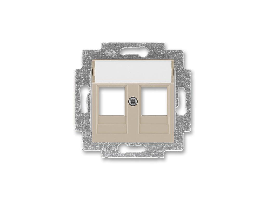 ABB LEVIT 5014H-A01018-18 macchiato/bílá