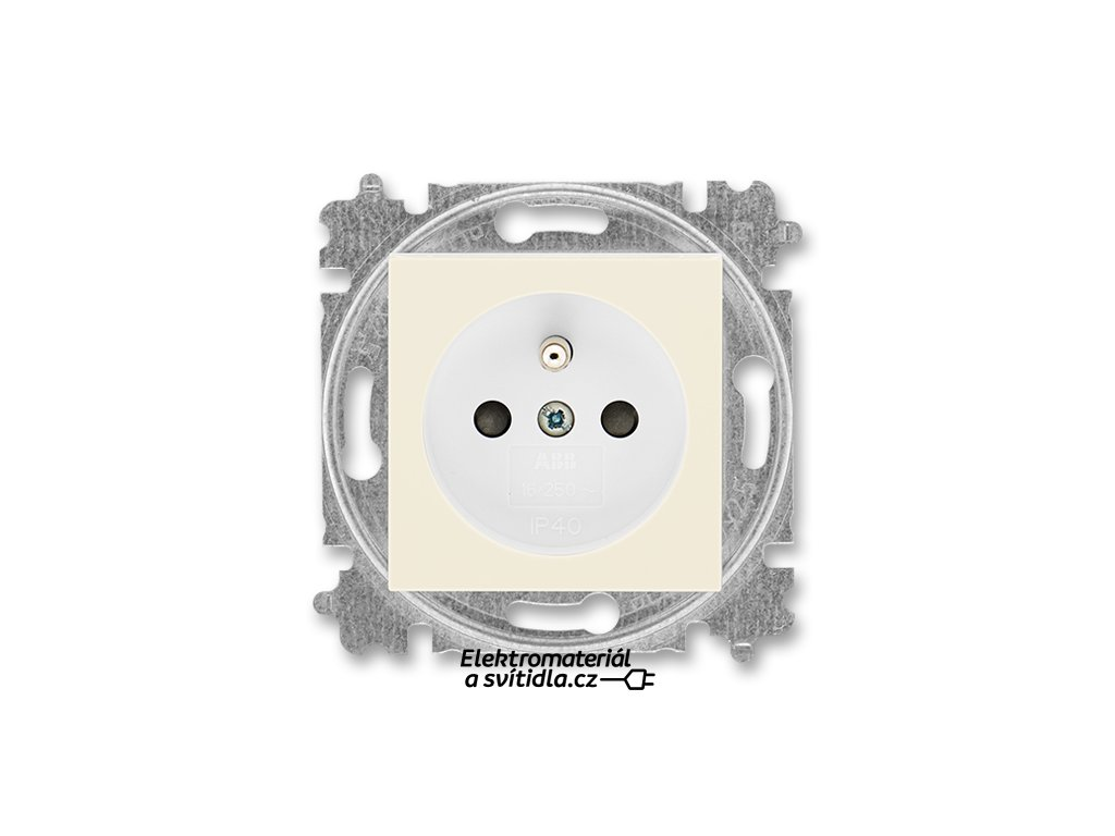 ABB LEVIT 5519H-A02357-17 slonová kost/bílá