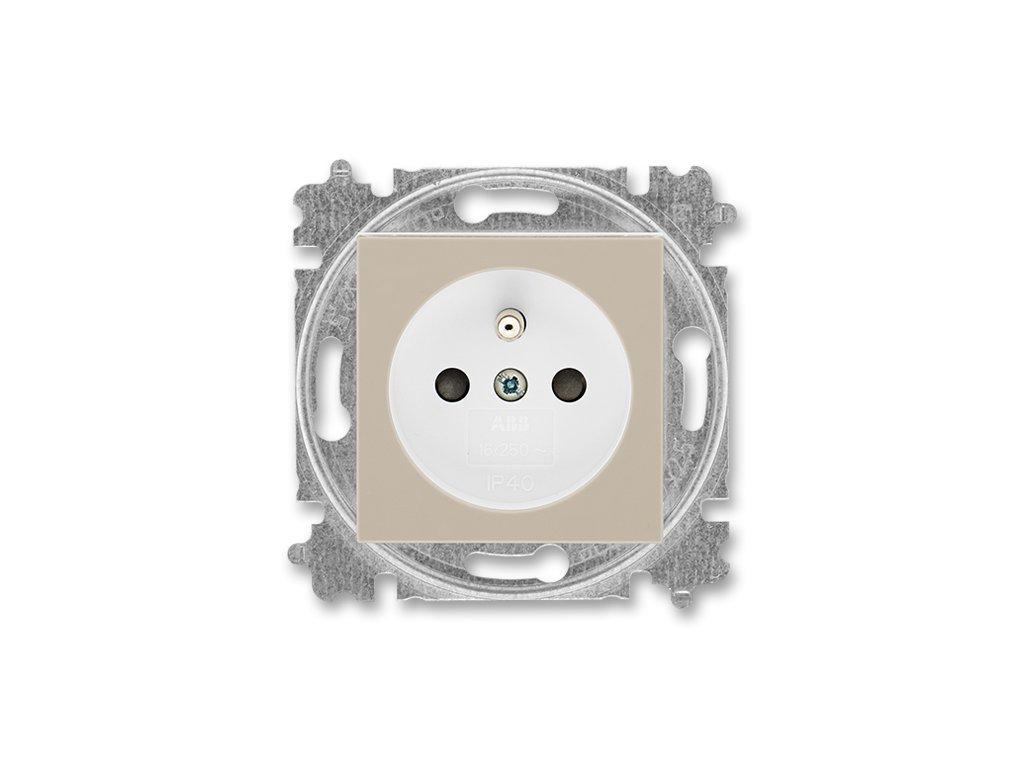 ABB LEVIT 5519H-A02357-18 macchiato/bílá