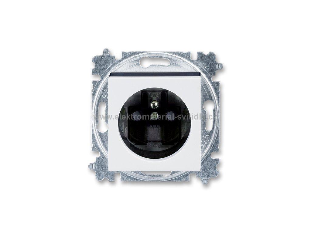 ABB LEVIT 5519H-A02357-62 bílá/kouřová černá