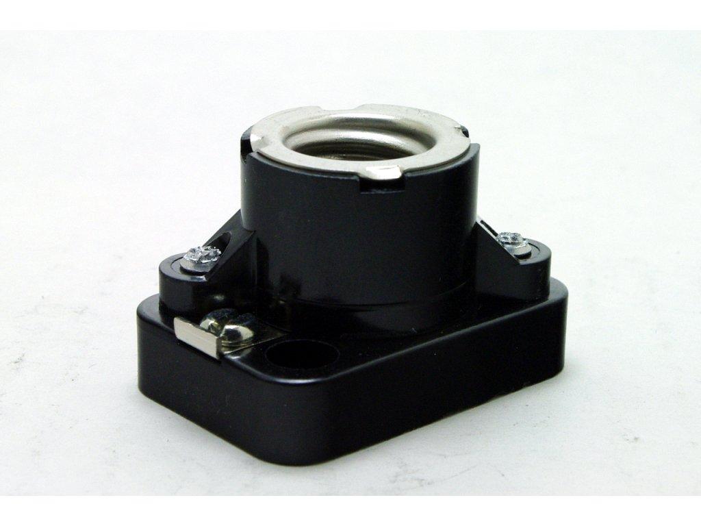 DESKO objímka E14 1255-500 černá