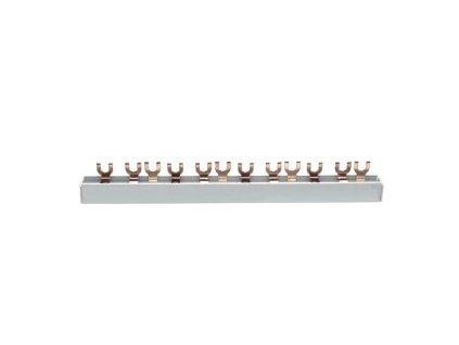 Propojovací lišta (hřeben) třífázová, pro 12 modulů