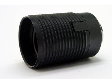 DESKO objímka E27 1352-13000 černá