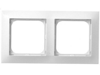 OSPEL Impresja dvojrámeček  bílý
