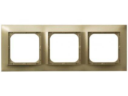OSPEL Impresja trojrámeček zlatý
