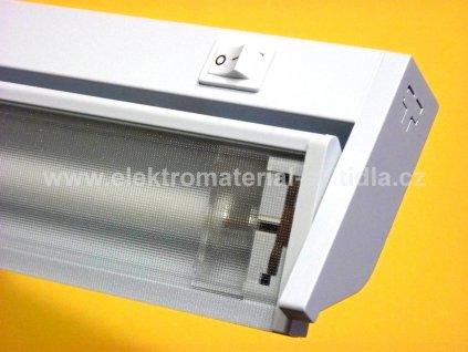 Illuma Podlinka TL2016-13 W bílé, přímé připojení, délka 57,5cm