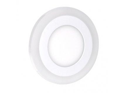 Solight WD150 LED podsvícený panel, podhledový, 6W+3W, 400lm, 4000K, kulatý