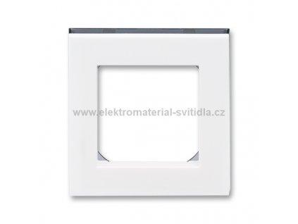 ABB LEVIT 3901H-A05010-62 bílá/kouřová černá