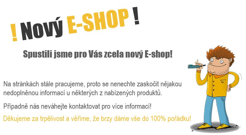 Zcela nový E-SHOP!