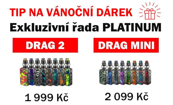 TIP NA VÁNOČNÍ DÁREK - Exkluzivní edice DRAG PLATINUM