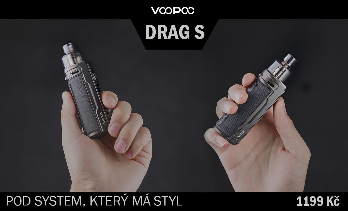 Voopoo DRAG S - stylový pod systém