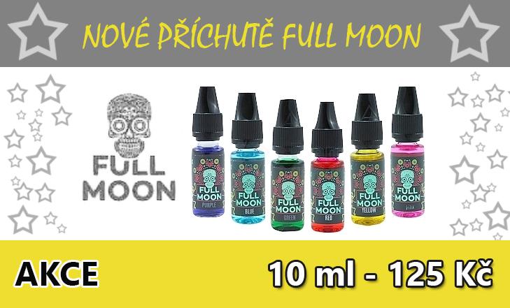 12 nových příchutí od Full Moon