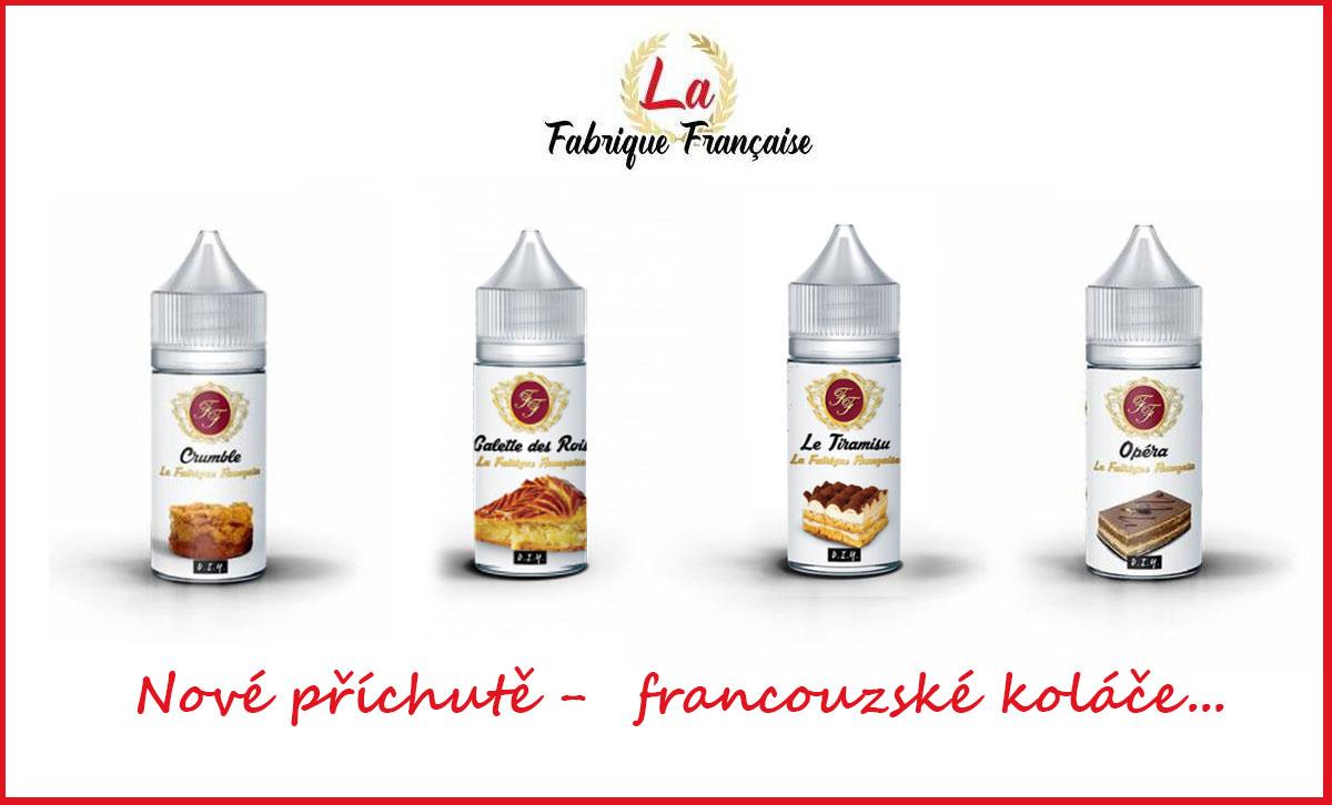 Nové francouzské příchutě LA FABRIQUE FRANÇAISE