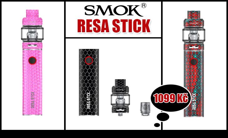 Novinka - SMOK Resa Stick Kit