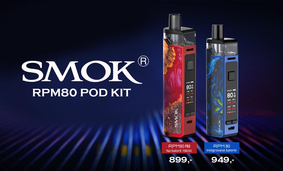 NOVINKA- SMOK RPM80 POD KIT
