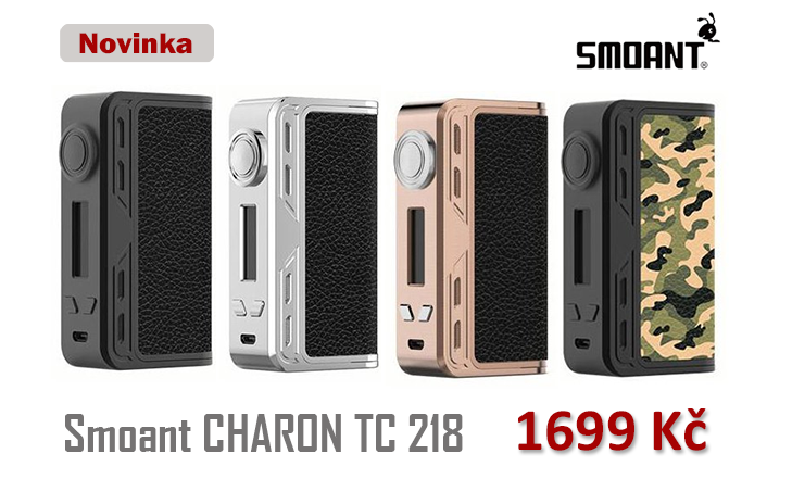 NOVINKA - SMOANT Charon TC 218