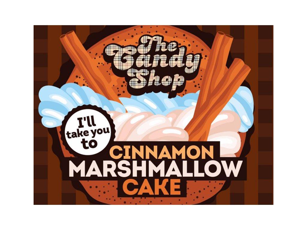 Cinamon Marsh cake