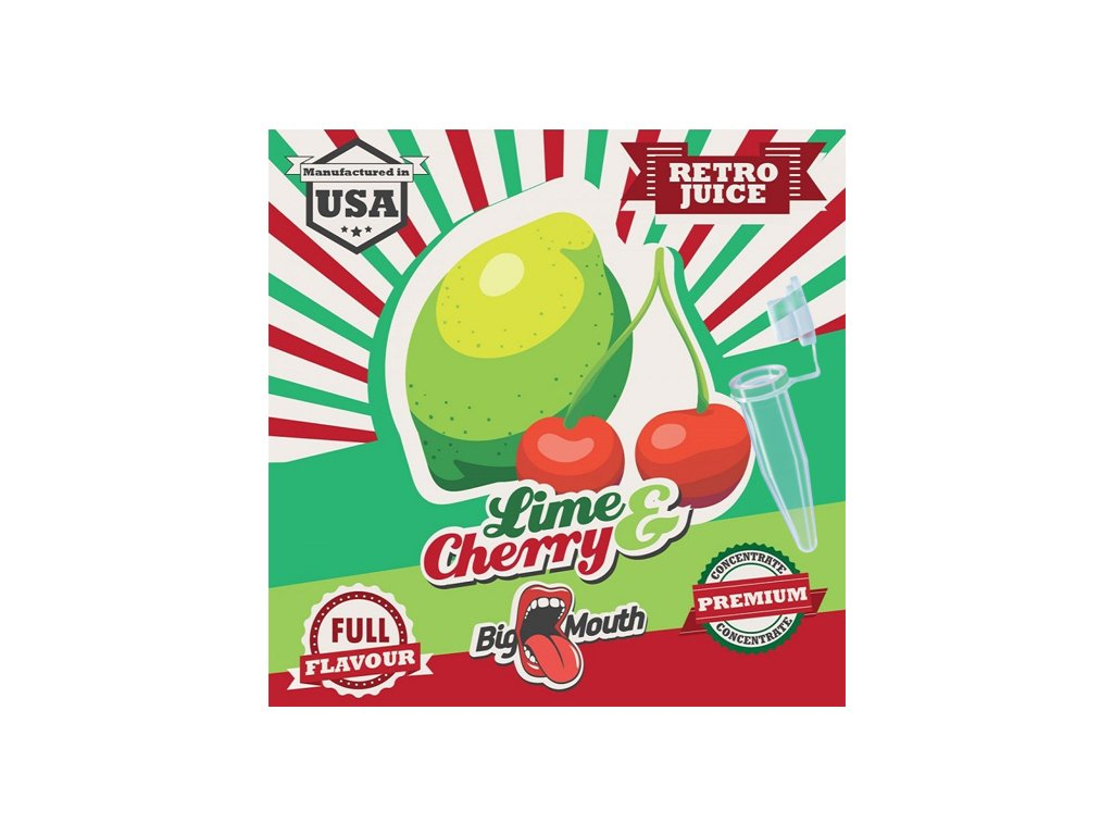 Big Mouth Retro LIME CHERRY TESTER