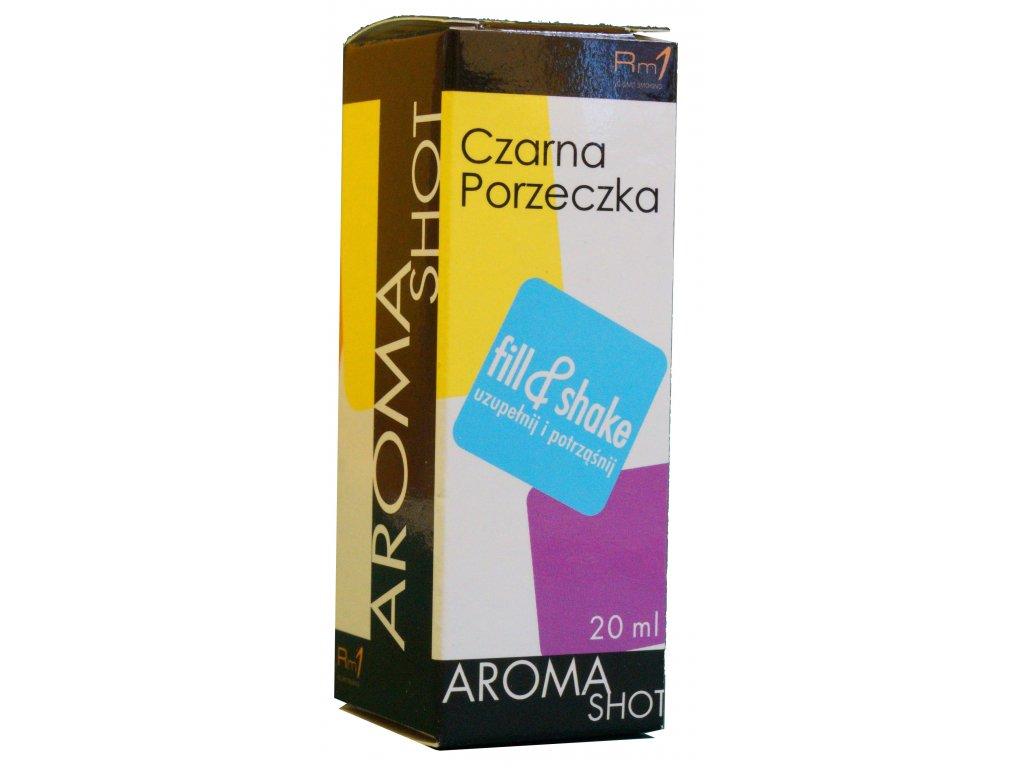 Aroma SHOT Rm1 Černý Rybíz
