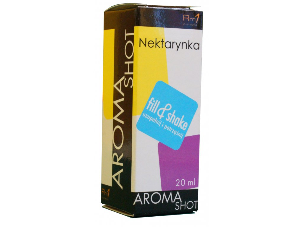 Aroma SHOT Rm1 NEKTARINKA 20 ml, 0 mg