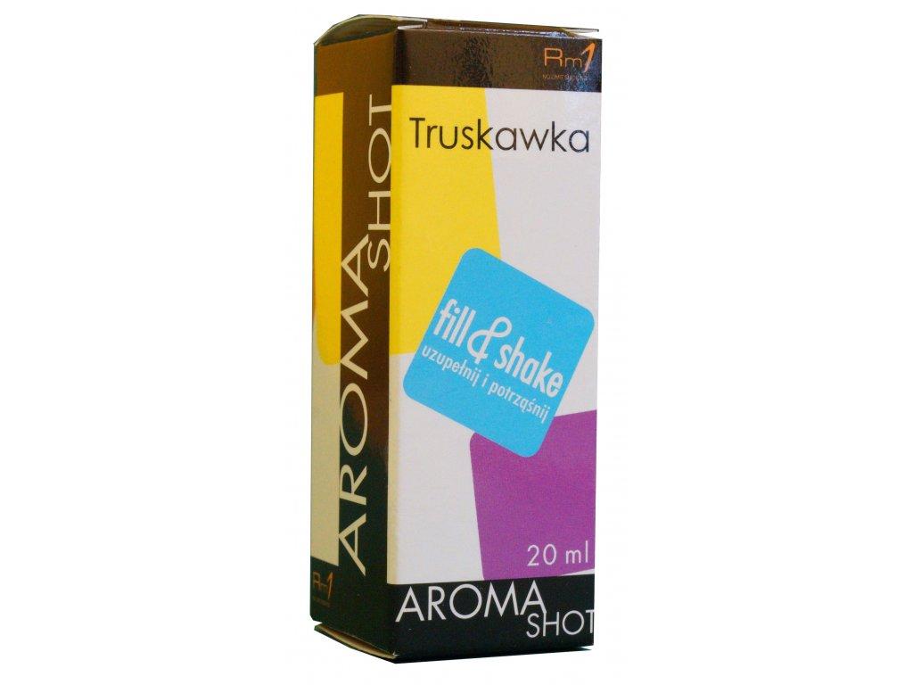 Aroma SHOT Rm1 JAHODA 20 ml, 0 mg