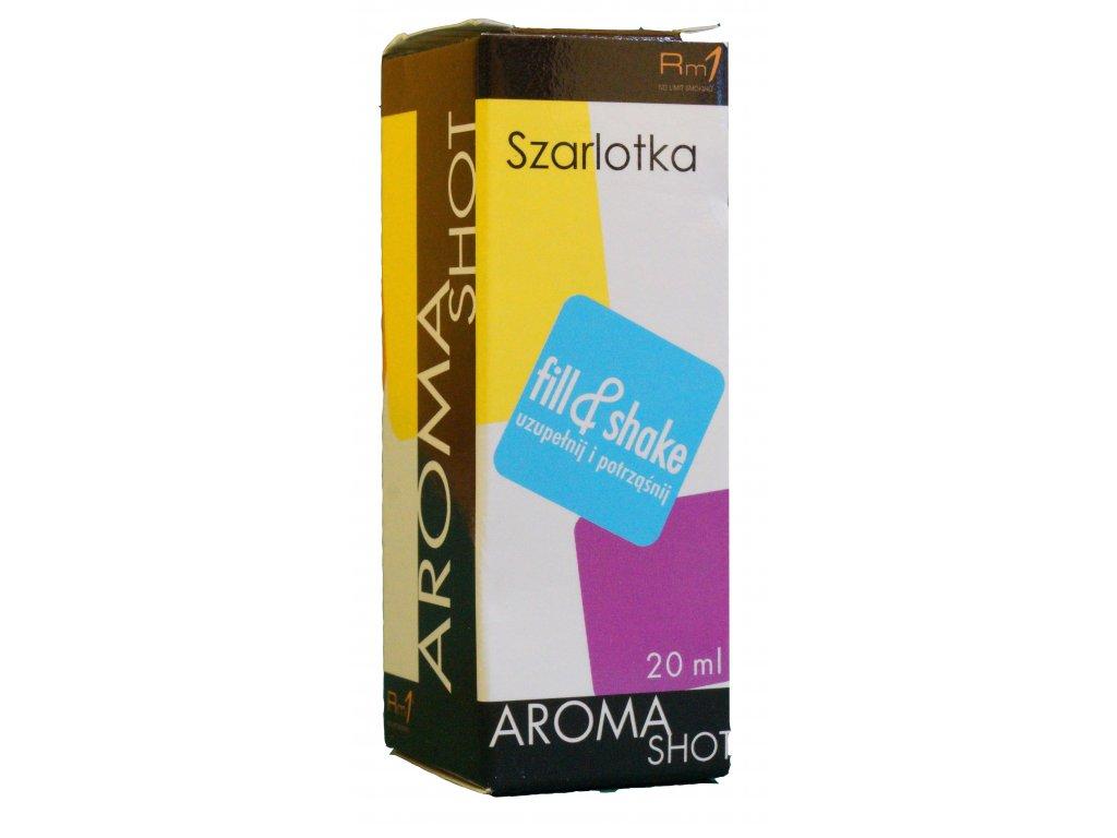 Aroma SHOT Rm1 JABLEČNÝ KOLÁČ (SZARLOTKA) 20 ml, 0 mg