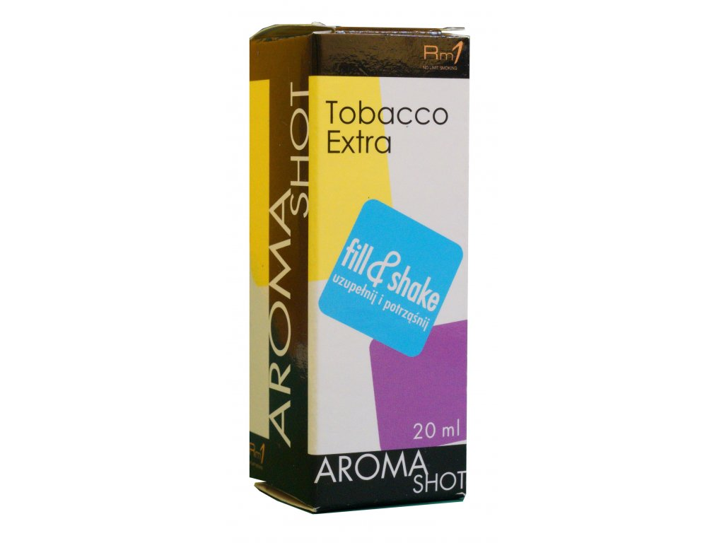 Aroma SHOT Rm1 TOBACCO EXTRA 20 ml, 0 mg