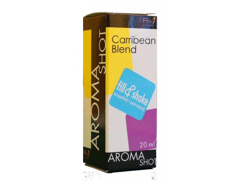 Aroma SHOT Rm1 CARRIBEAN BLEND 20 ml, 0 mg